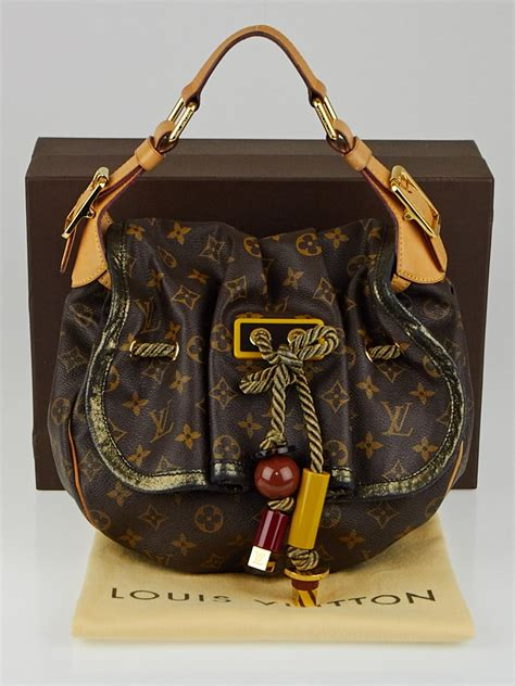 louis vuitton limited edition monogram canvas kalahari pm bag yoogis closet
