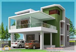 Small Modern Homes Beautiful 4 BHK Contemporary Simple