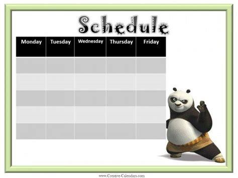 weekly planner  boys