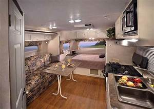 Travel Trailer interior RVs and Travel Trailers