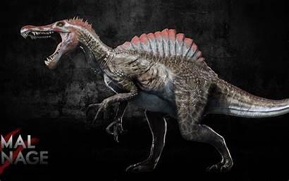 Spinosaurus Primal Carnage Reskin Gandalf Rex Cat