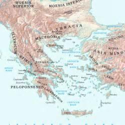Asia Minor Greece Map