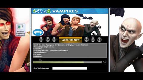 The Sims 4 Vampires Serial Key Youtube