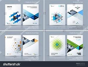 Business Abstract Vector Template Brochure Design Stock