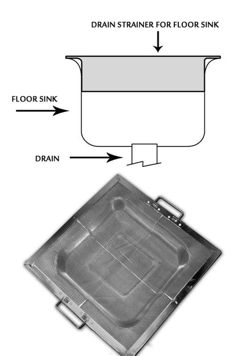 kitchen floor drain stainless steel drain strainer mesh w flange for 8 5615