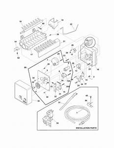Ice Maker Diagram  U0026 Parts List For Model 25378829012