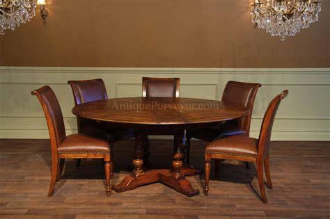solid walnut  dining table  hidden leaves