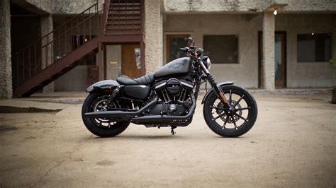 Harley Davidson Iron 883 4k Wallpapers by Wallpaper Harley Davidson Iron 883 Black Bike Year 2016