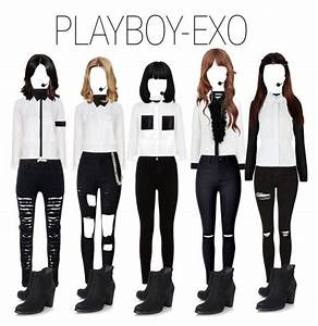 64 best GROUP FASHION PERFORMANCE images on Pinterest | Inspired outfits Kpop outfits and Group