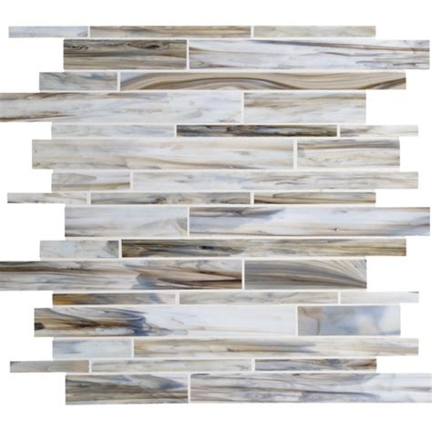 linear glass and mosaic tile daltile serenade stained glass mosaic f192 surf rock random linear glass tile mosaic