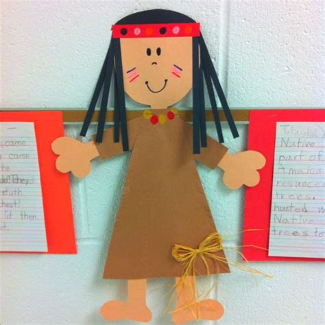 crafts actvities and worksheets for preschool toddler and 673 | Native Americans