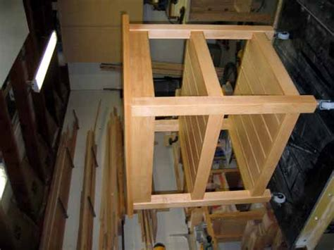 printer stand plans easy diy woodworking projects step