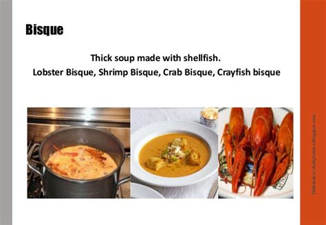 types of soup types of soup