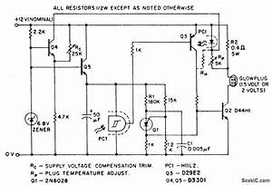 Glow Plug Driver - Basic Circuit - Circuit Diagram