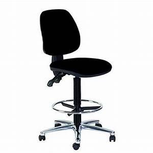 Fauteuil Assise Haute : topsit ind201 haute chaise de bureau pivotante avec repose pieds assise et dossier en cuir ~ Teatrodelosmanantiales.com Idées de Décoration