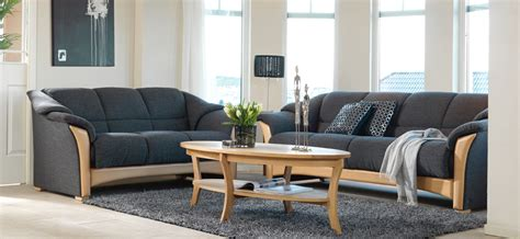 Local Sofa Shops by Ekornes Oslo 4 Seat Sofa And 3 Seat Loveseat Shown In