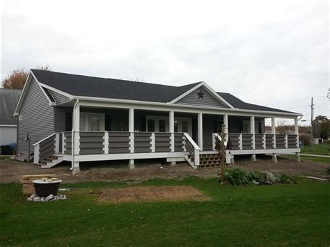 Design Your Own Ranch Style Home by Ranch With Composite Front Porch Recipes Mobile Home