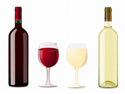 Wine Bottle Glass Vector Illustration Watercolor Clipart