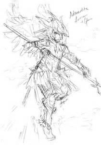 Terraria Adamantite Armor Drawing