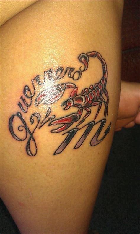 modele tatouage prenom et scorpion tatouage femme