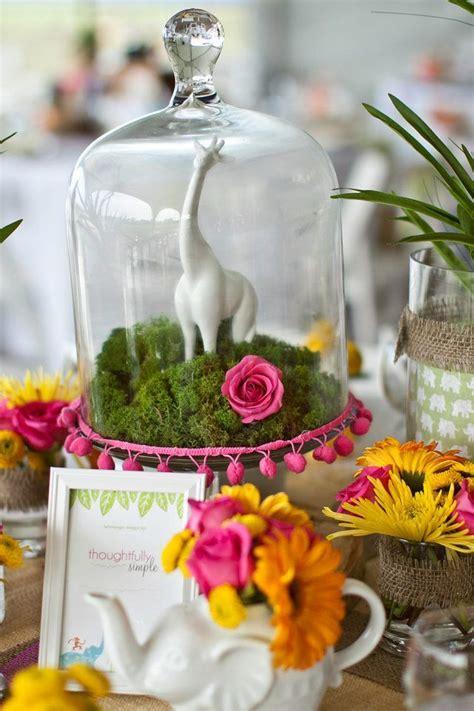 unique rustic terrarium wedding centerpieces deer