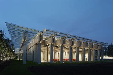 kimbell art museum renzo piano pavilion integrated