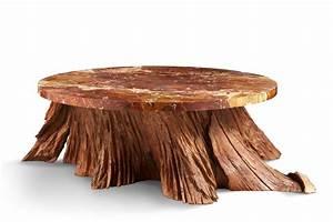 Achat Tronc Arbre Decoratif : table basse le pi tement en tronc d 39 arbre le plateau en ~ Zukunftsfamilie.com Idées de Décoration