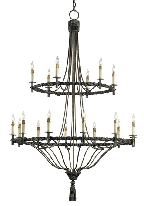 currey and company 9174 priorwood eighteen light chandelier