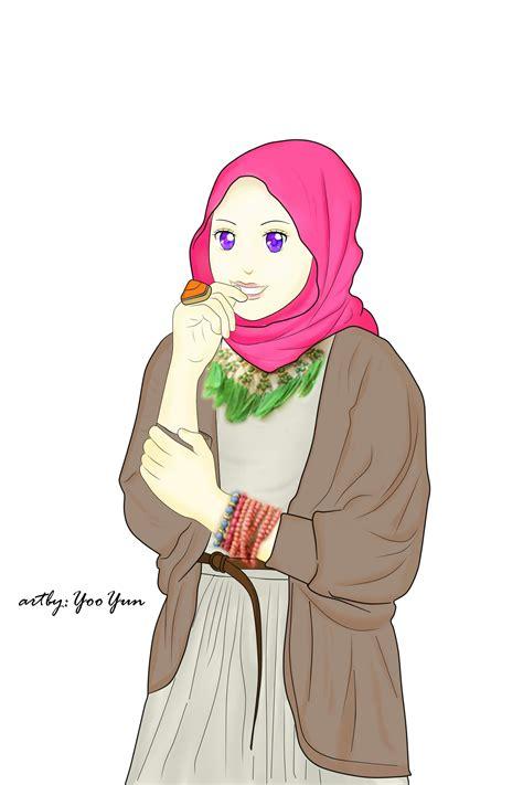gambar anime islam romantis gambar wallpaper kartun gudang wallpaper