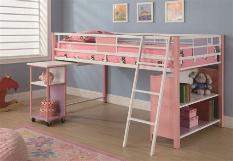 loft bed with desk and storage kids loft beds with desk