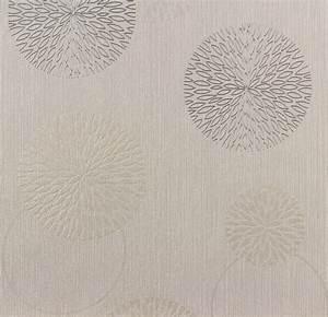 Tapete Muster Grau : tapete blumen as creation spot grau beige 93792 1 ~ Michelbontemps.com Haus und Dekorationen