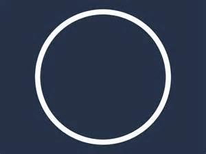 White Circle Outline