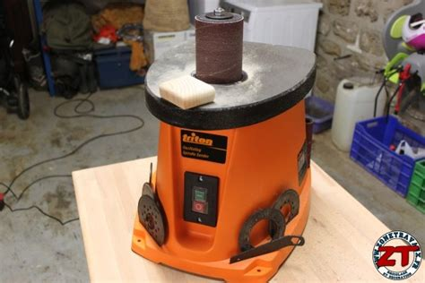 Ponceuse A Cylindre Test Ponceuse 224 Cylindre Oscillant Triton Tsp S450