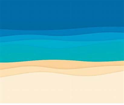 Sand Vector Water Sea Ocean Waves Background