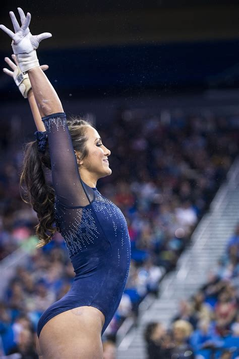 ucla gymnastics defeats cal   daily bruin