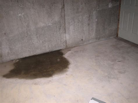 Ground Water Seepage In The Basement