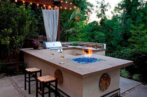 custom bbq contemporary patio los angeles by stout