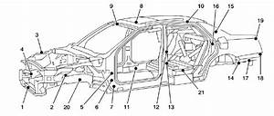 2010 Cadillac Dts Body Structure  2006