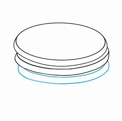 Pancakes Draw Pancake Line Drawing Easy Drawings