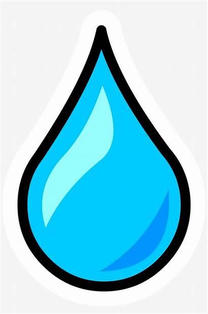 Water Clipart Drop Droplet Transparent Watter Dro