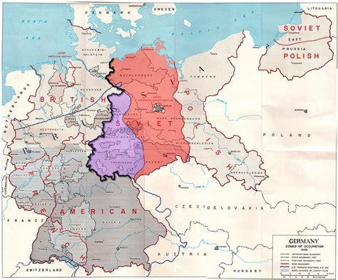 9 Est In Deutschland confine tra germania est e germania ovest