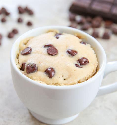 mug cake chocolate chip mug cake kirbie s cravings