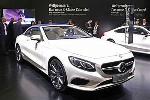 Mercedes Classe C Blanche : mercedes classe s cabriolet un palace ciel ouvert l 39 argus ~ Gottalentnigeria.com Avis de Voitures