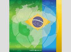 Vetor livre futebol de brasil Baixar vetores grátis