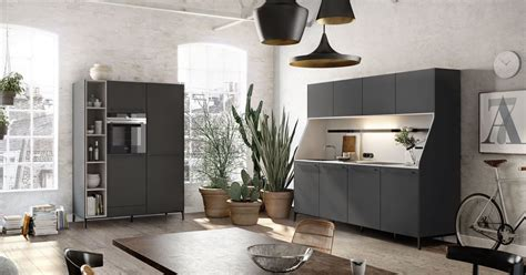 Urban Kitchens : Urban Kitchen Design With Brick Decor And Wall Shelf