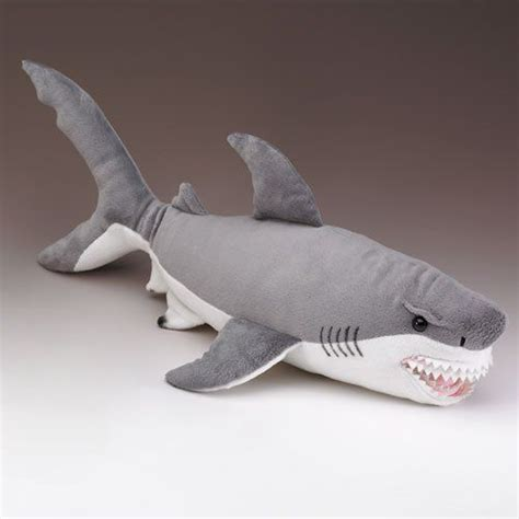 amazoncom xl great white shark stuffed animal  inches