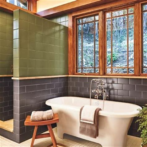 Craftsman Style Bathroom Fixtures by A Bath Goes From Washed Out To Craftsman Style Window