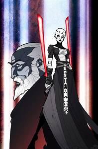 Count Dooku and Asajj Ventress vs Darth Maul, Savage ...