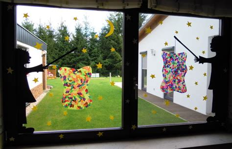 Herbstdeko Fenster Mit Kindern by St Martin Laterne Laterne Herbst Bastelspass Mit