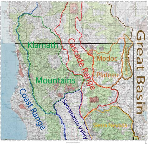 cascade mountain range map adriftskateshop